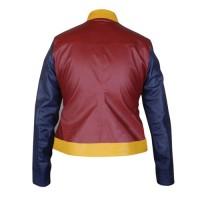 Wonder Woman Genuine Leather Jacket