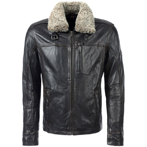 Leather Winter Jacket