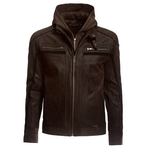Men's Leather Fashion Jacket