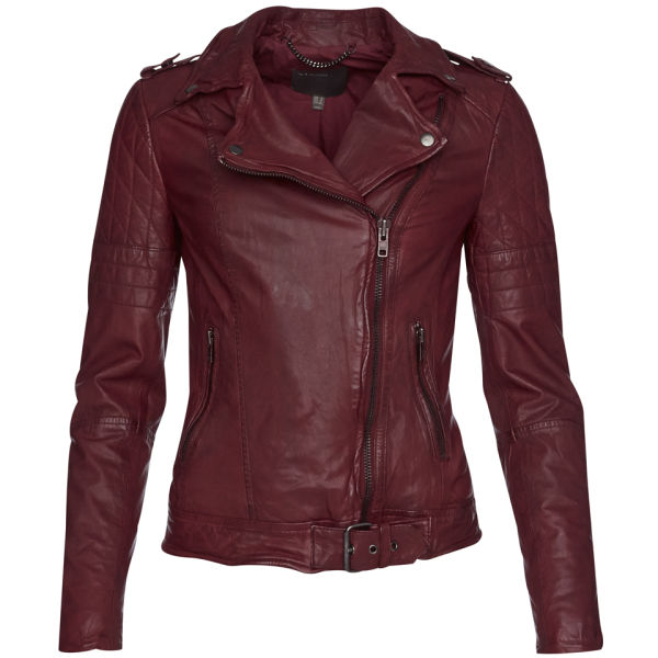 WOMEN'S NIDO QUILTED BIKER JACKET