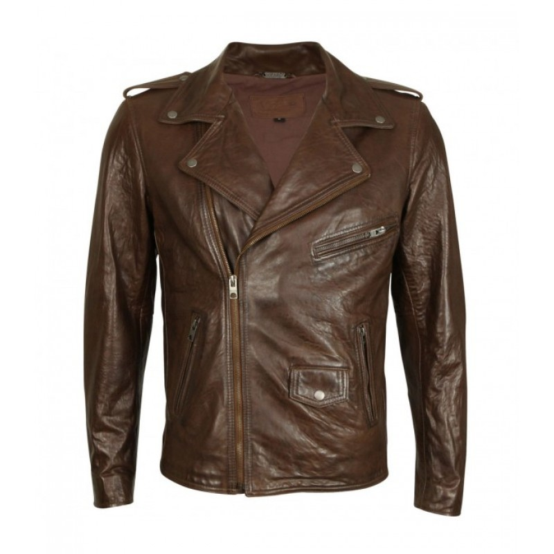 CLASSIC BRANDO LEATHER JACKET