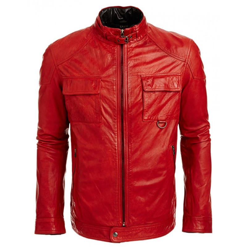 Red fashion jacket