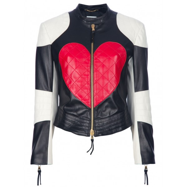 'Heart & Peace' biker jacket