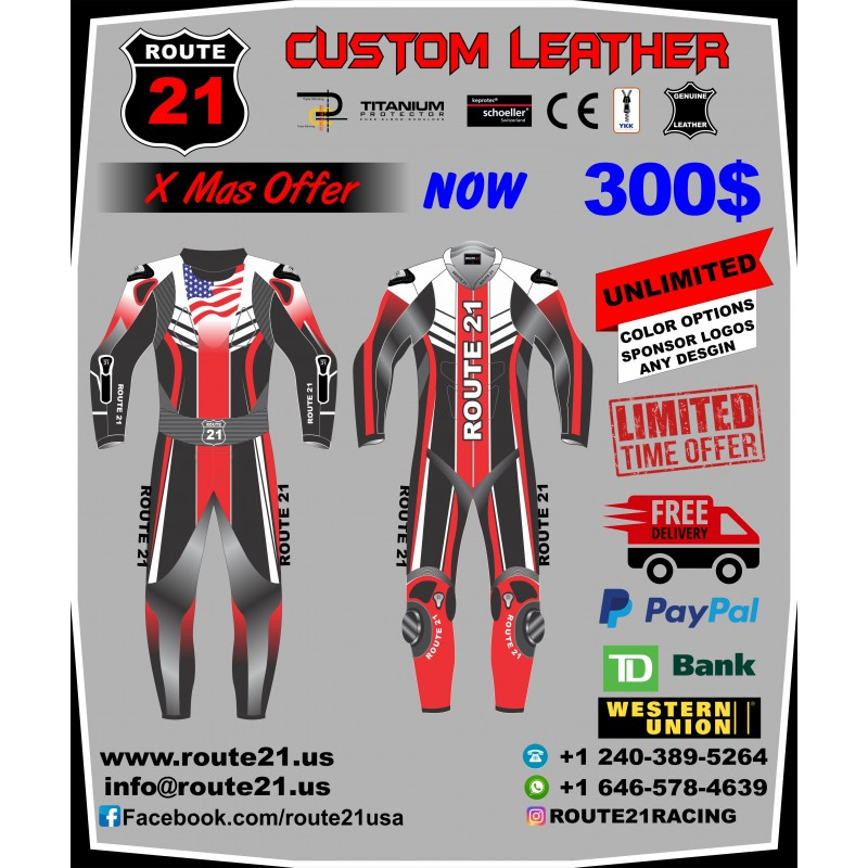 32a47b4ab2b Custom Racing racing suit X Mas offer E mail info@route21.us