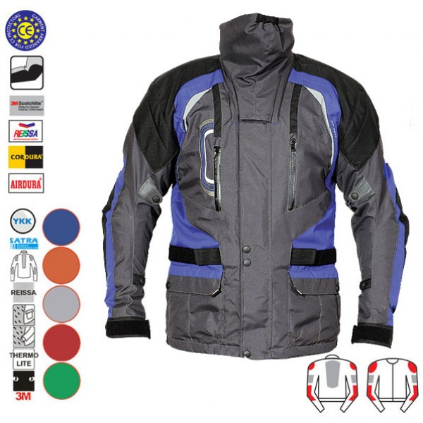 Mnes Motorcycle Textile Jacket