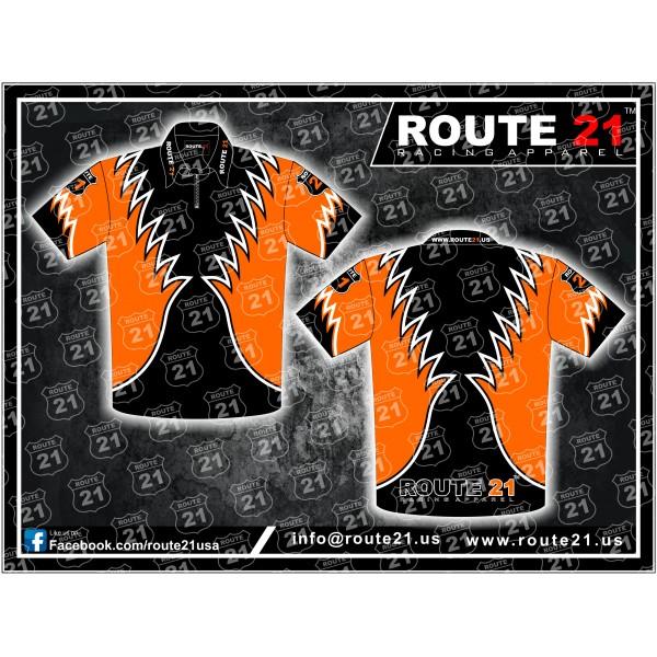 Custom pit crew shirt