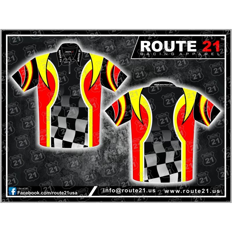 Custom pit crew shirts